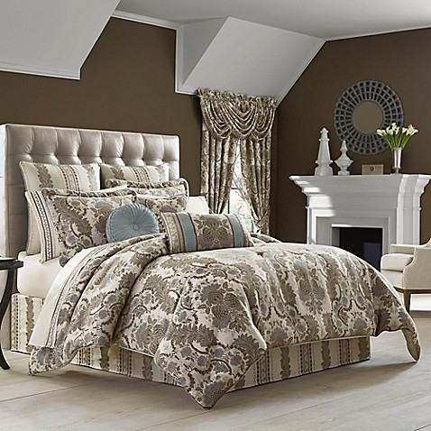 image of j queen new york crystal palace comforter set - J Queen New York Bedding