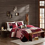 Cedar Ridge Lodge Sunset Full/Queen Quilt in Red