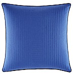 Nautica® Eldridge Quilted Square Throw Pillow in Dark Blue