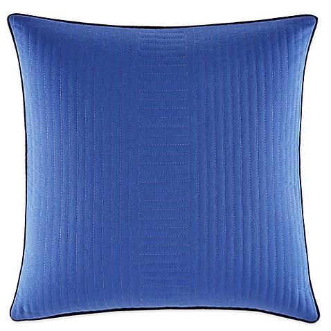 Nautica Eldridge Quilted Square Throw Pillow in Dark Blue - Bed Bath & Beyond