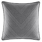 Nautica® Bluffton Quilted Square Throw Pillow in Dark Grey