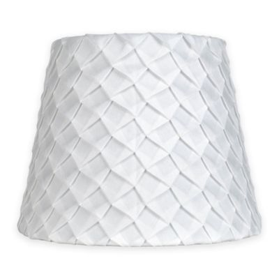 Mix U0026 Match Small 9 Inch Textured Pleat Lamp Shade In White
