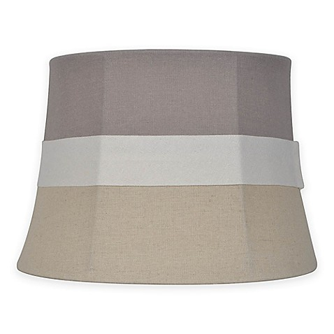 mix match small 10 inch striped fabric lamp shade in. Black Bedroom Furniture Sets. Home Design Ideas
