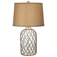 Pacific Coast Lighting® Castaway Table Lamp with Burlap Shade