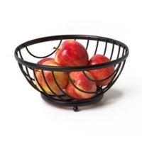 Spectrum® Ashley™ Fruit Bowl in Black