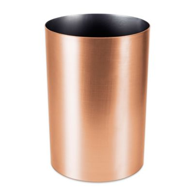 umbra metalla 475gallon trash can in copper