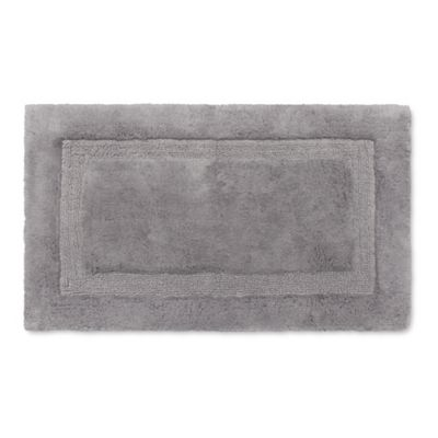 Wamsutta® Luxury 21 Inch X 34 Inch Border Plush MicroCotton Bath Rug In