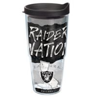 Tervis® NFL Oakland Raiders 24 oz. Statement Wrap Tumbler with Lid