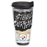 Tervis® NFL Pittsburgh Steelers 24 oz. Statement Wrap Tumbler with Lid