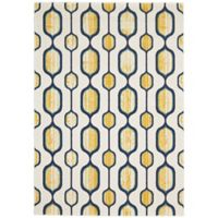 Feizy Caslon Mod Link 10-Foot x 13-Foot 2-Inch Area Rug in Yellow
