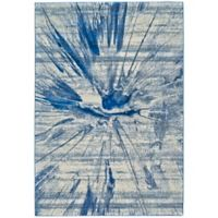 Feizy Caslon Splatter 10-Foot x 13-Foot 2-Inch Area Rug in Cobalt