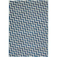 Feizy Caslon Stairs 10-Foot x 13-Foot 2-Inch Area Rug in Blue