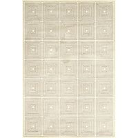 Feizy Settat Squares 10-Foot x 13-Foot 2-Inch Area Rug in Grey/Cream