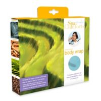 Spa Comforts Body Wrap in Mint/Brown