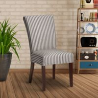 FurnitureSkins™ Lincoln Stretch Dining Chair Slipcover in Grey