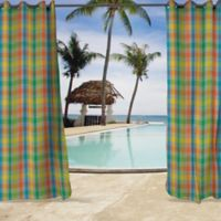 Sunbrella® Connect 84-Inch Grommet Top Outdoor Curtain Panel in Fusion/Yellow