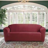 FurnitureSkins™ Kensington Sofa Slipcover in Merlot