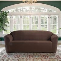 FurnitureSkins™ Kensington Sofa Slipcover in Chestnut