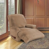 FurnitureSkins™ Kensington 4-Piece Stretch Recliner Cover