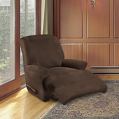 Furnitureskins Kensington 4 Piece Stretch Recliner Cover