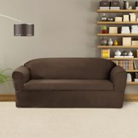 FurnitureSkins™ Bayview 2-Piece Wrap Style Sofa Slipcover for Box or T-Cushion in Bark