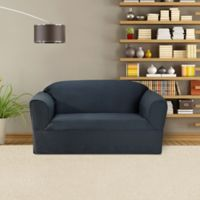 FurnitureSkins™ Bayview 1-Piece Loveseat Wrap Style Slipcover