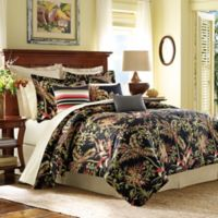 Tommy Bahama® Jungle Drive King Duvet Cover in Black