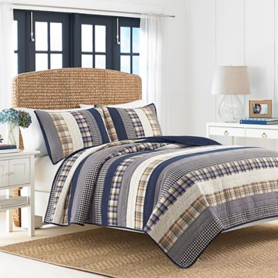 Buy Bedding Blue Stripe Twin From Bed Bath Amp Beyond