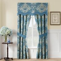 Waverly Moonlit Shadows 84-Inch Window Curtain Panel Pair in Lapis