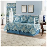 Waverly Moonlit Shadows Reversible Daybed Quilt Set in Lapis