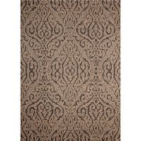 SimplyShade Mororccan 5-Foot 3-Inch x 7-Foot 4-Inch Outdoor Area Rug in Chestnut