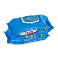 Harmon® Face Values™ 2-Pack 60-Count Flushable Moist Wipes