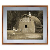 Faded Barn Framed Graphic Wall Art