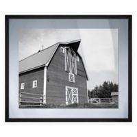 Barn Fresh Framed Wall Art in Charcoal