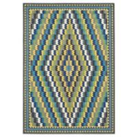 Feizy Caslon Diamonds 8-Foot x 11-Foot Multicolor Area Rug