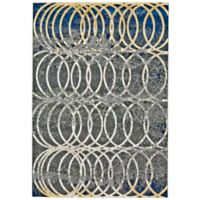 Feizy Caslon Settat Circle Lock 8-Foot x 11-Foot Area Rug in Grey