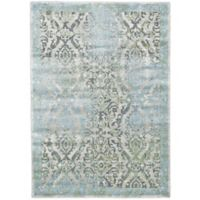 Feizy Landri Distressed 8-Foot x 11-Foot Multicolor Area Rug