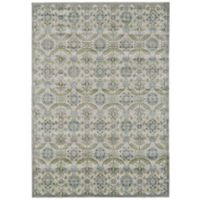 Feizy Landri Floral Medallion 8-Foot x 11-Foot Area Rug in Taupe