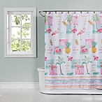 Flamingo Fever Shower Curtain