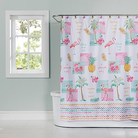Flamingo Fever Shower Curtain Bed Bath Amp Beyond