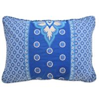 Waverly Moonlit Shadows 14-Inch x 20-Inch Throw Pillow in Lapis