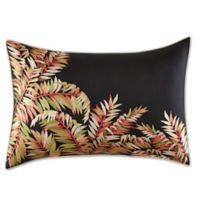 Tommy Bahama® Jungle Drive Embroidered Oblong Throw Pillow in Black
