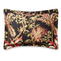 Tommy Bahama® Jungle Drive Standard Pillow Sham in Black