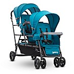 Joovy® Big Caboose Graphite Stand-On Triple Stroller in Turquoise