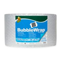 Duck® Large Clear Bubble Wrap® Cushioning