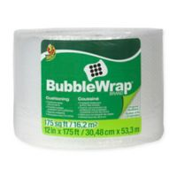 Duck® Bubble Wrap® - Clear, 12 in. x 175 ft.