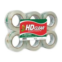 HD Clear™ Packaging Tape, 6-pack, 1.88 in. x 109.3 yd.