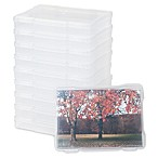 IRIS® 5-Inch x 7-Inch Photo Storage and Craft Case in Clear (Set of 10)