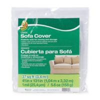 Duck® Large Sofa Cover - Clear, 41in. x 131in.