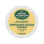 Keurig® K-Cup® Pack 18-Count Green Mountain Coffee® Cinnamon Sugar Cookie Coffee